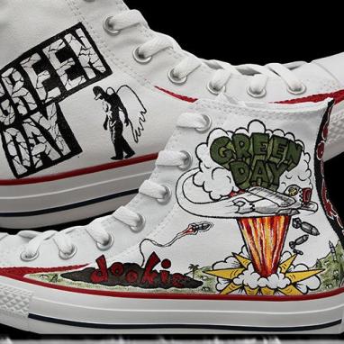 Оригинальные кеды Converse Custom Green Day M7650C купить в Минске 7d33cee266d